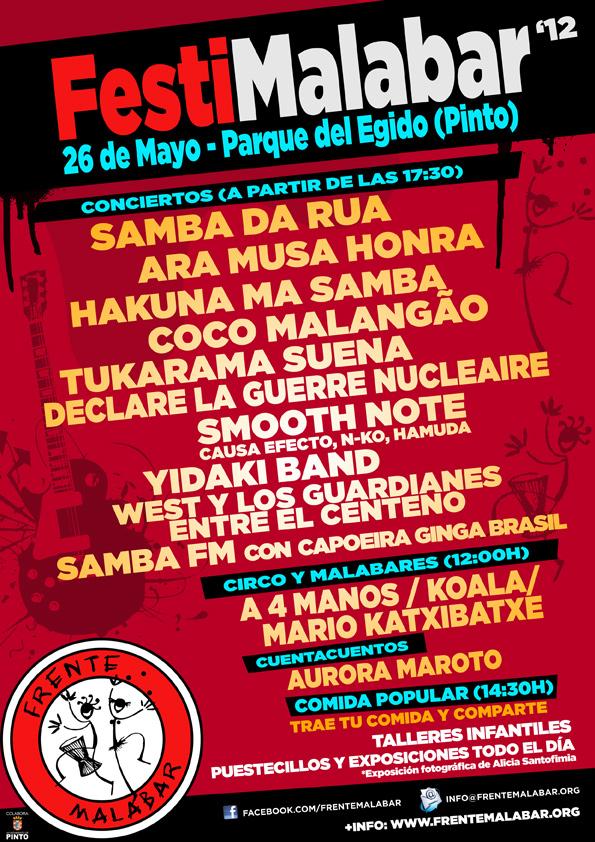 Festimalabar en Pinto 2012. Parque del Egido