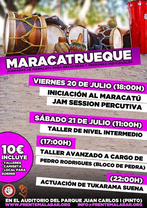 talleres de maracatu en Madrid
