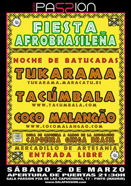 Tukarama+Tacúmbala+Coco Malangão