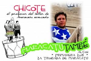 Chicote en Maracatútambé 2015