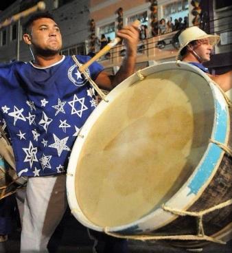 Pitoco (Estrela Brilhante) nos enseña los baques y cortes de su Naçao