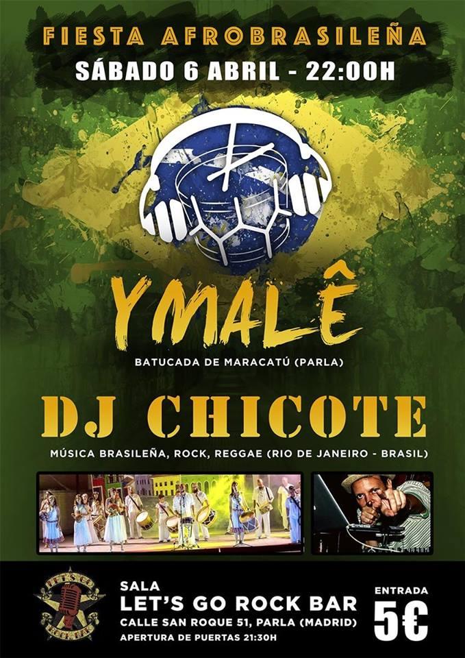 concierto de maracatú en Madrid. Ymale + DJ Chicote